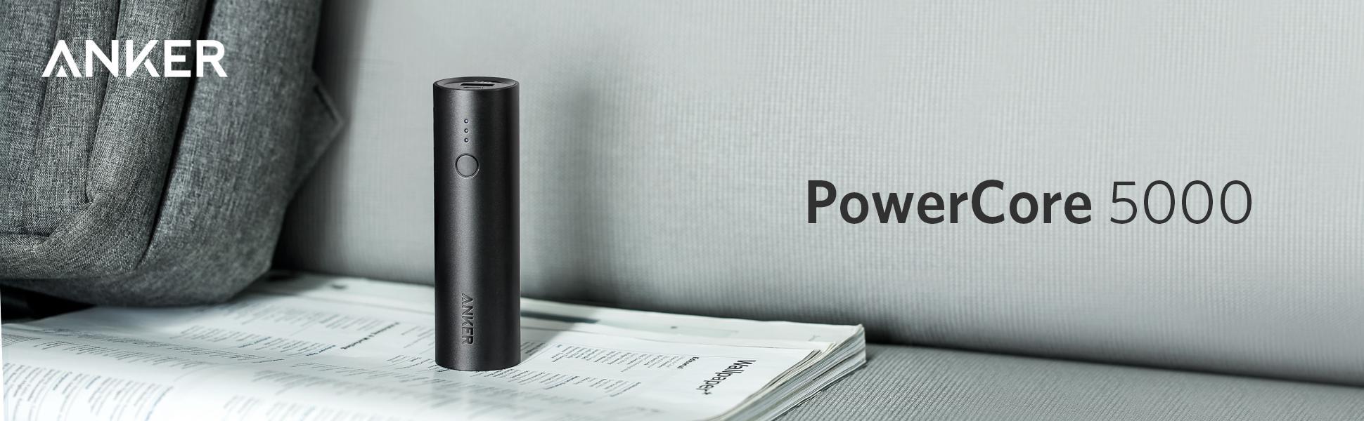 Pin Sạc Dự Phòng Anker PowerCore 5000mAh - A1109 - Hàng Chính Hãng