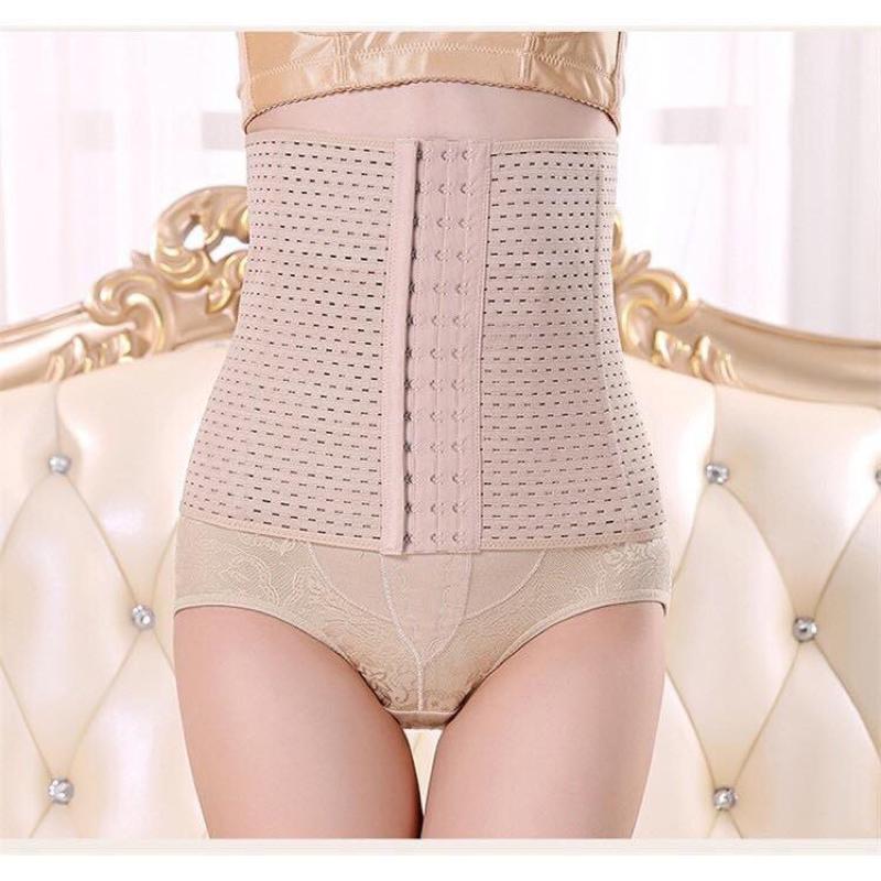 Đai gen nịt bụng định hình eo thon có thể kết hợp váy Body 1