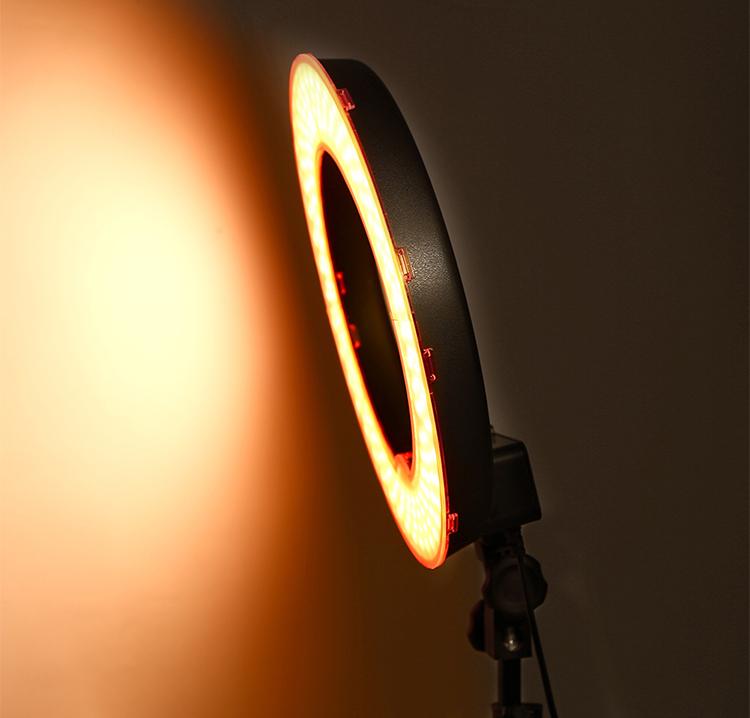 Đèn Led Ring Rl-18 Thiết Bị Chụp Ảnh, Quay Phim Studio - Hàng Nhập Khẩu