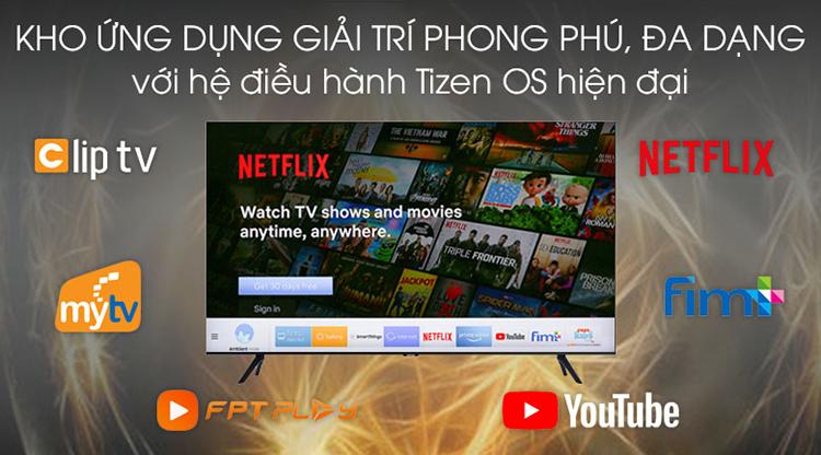 Smart Tivi Samsung 4K 43 inch UA43TU8100 - Hàng chính hãng