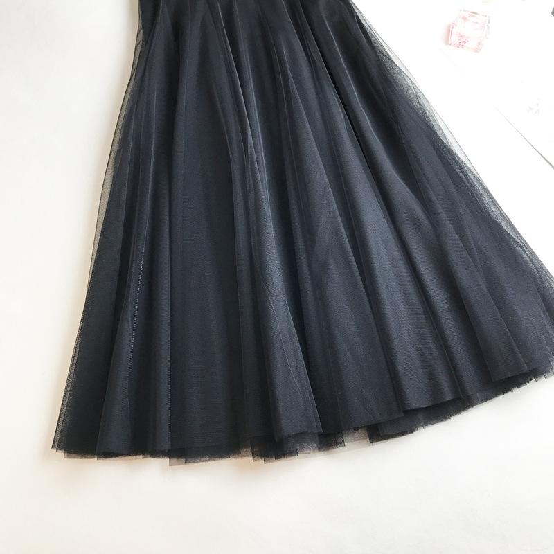 Chân váy lưới tutu xòe nhiều tầng VAY49 free size 8