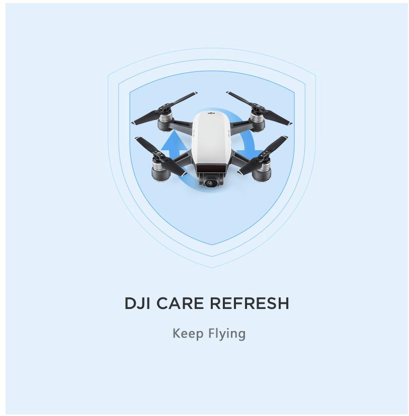 Tem Làm Mới Hạn Bảo Hành Spark DJI Care