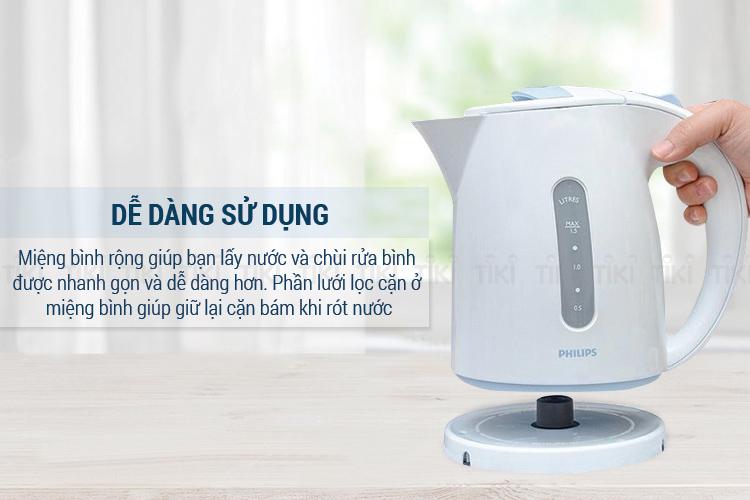 Bình Đun Siêu Tốc Philips HD4646 (1.5L)
