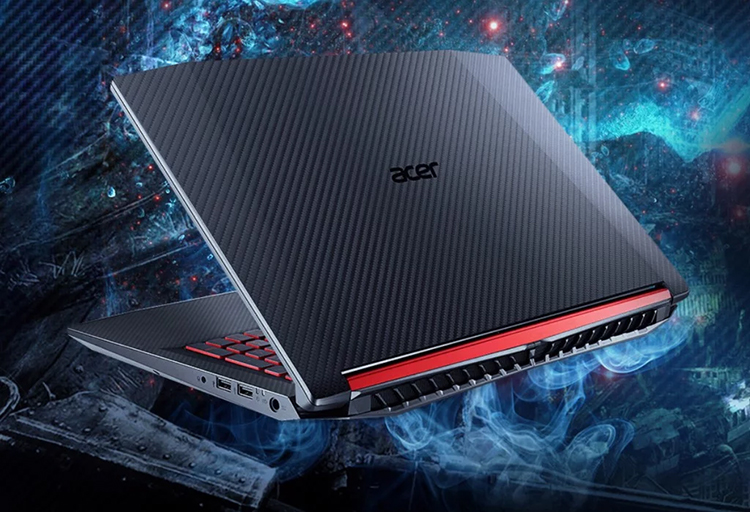 Laptop Acer Nitro 5 AN515-52-53PC NH.Q3MSV.00B (Core i5-8300H/ 8GB DDR4 2666MHz/ 512GB SSD M.2 PCIE/ GTX 1050 4GB/ 15.6 FHD IPS/ Win10) - Hàng Chính Hãng