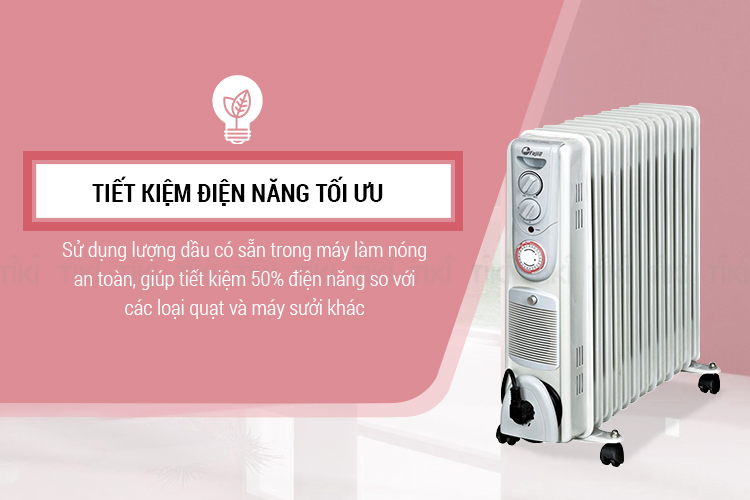 Máy Sưởi Dầu FujiE OFR5511