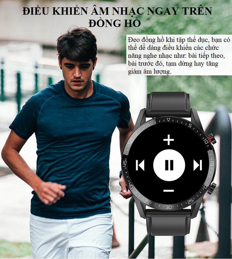 Đồng hồ theo dõi Sức khỏe cao cấp 1.3 -Theo dõi và nhắc nhở vận động 13
