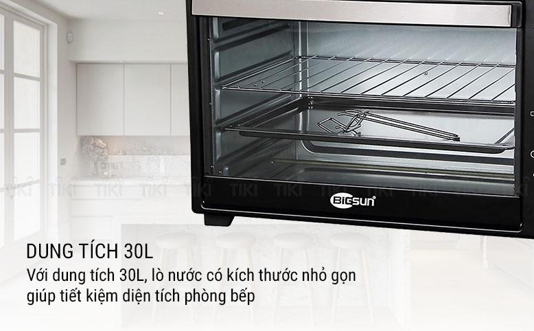 Lò Nướng Thùng Bigsun BTO-30 (30 Lít) - Hàng Chính Hãng