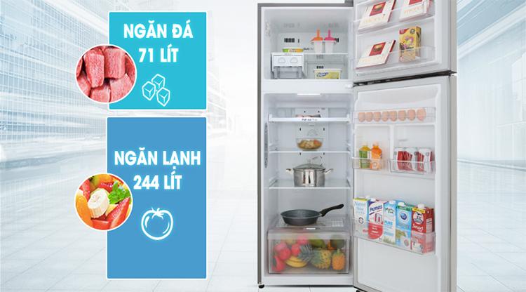 Tủ Lạnh Inverter LG GN-M315PS (315L)