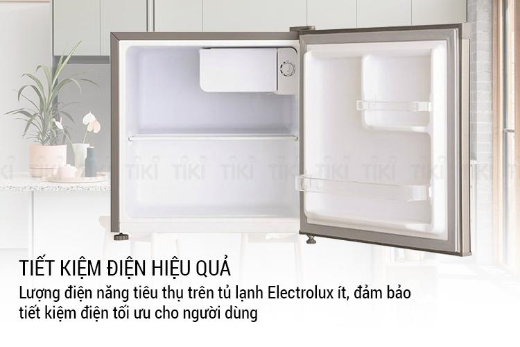Tủ Lạnh Mini Electrolux EUM0500SB (46L) - Hàng chính hãng = 2.089.000đ