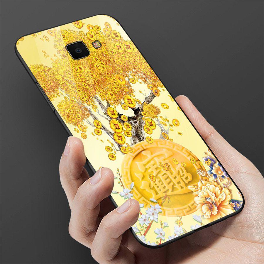 Ốp kính cường lực cho điện thoại Samsung Galaxy A50 - thần tài kim MS TTKIM062