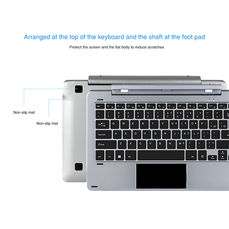 Rotary Shaft Keyboard Metal Keyboard Original with Magnetic Docking 12 Inch Removable PC for Chuwi Hi12