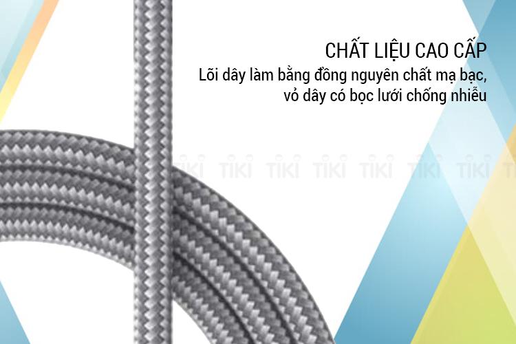 Dây Cáp Sạc USB Type-C Cho Điện Thoại GENSHAI 1m GT08 - Hàng Chính Hãng