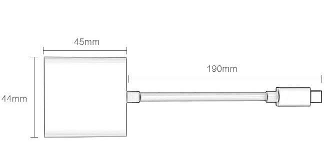 Cáp Chuyển Đổi Mini Displayport Sang VGA BIAZE ZH11-PC