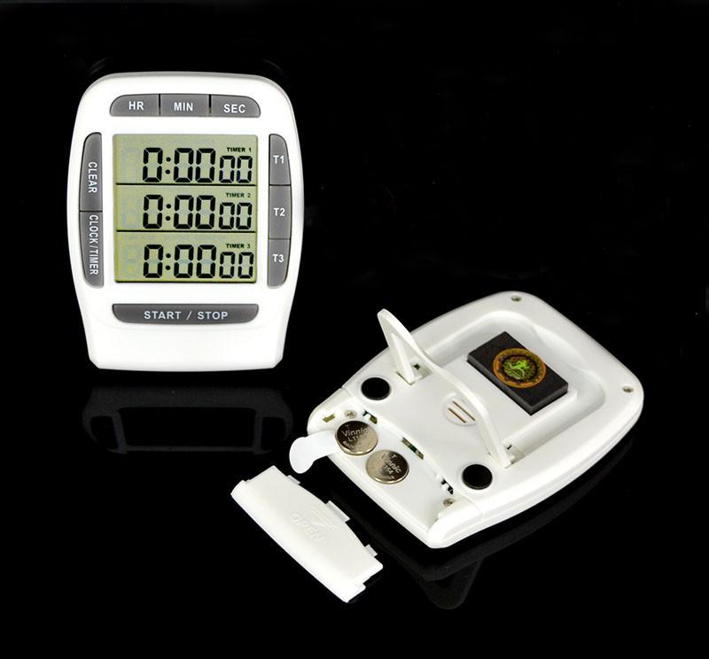 Đồng hồ đếm ngược version 1 (độ chính xác cao, có chuông báo) - Tặng kèm quạt cắm cổng USB mini (vỏ nhựa, giao màu ngẫu nhiên) 4