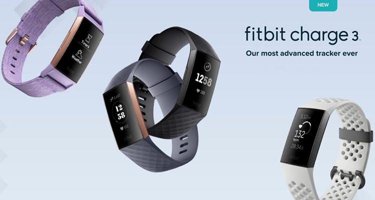 Vòng Theo Dõi Sức Khỏe Fitbit Charge 3 - Hàng Chính Hãng