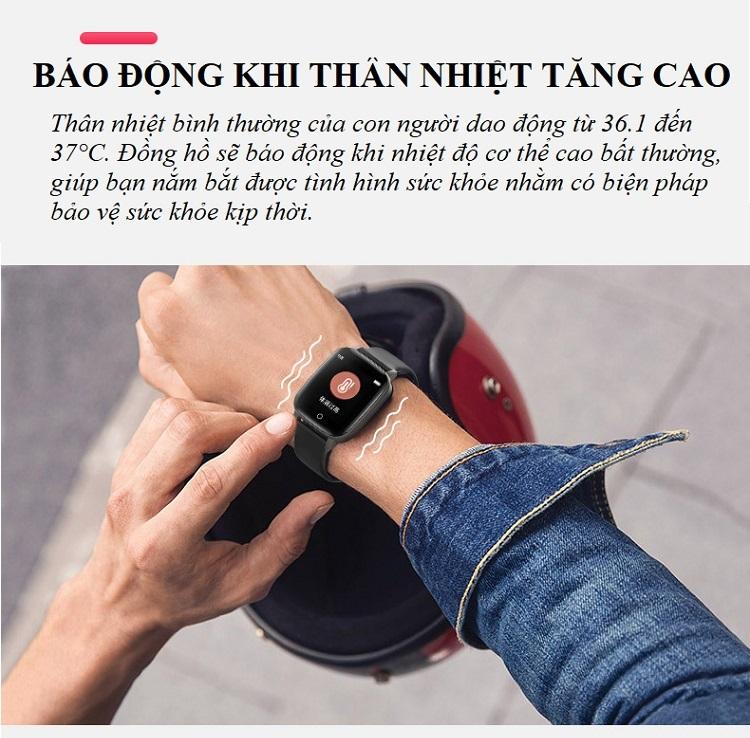 Đồng hồ theo dõi sức khỏe đa năng T_1_Q - Đồng hồ thông minh 8
