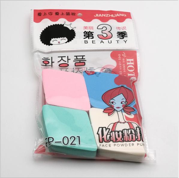 Bộ 4 Bông Phấn Siêu Mịn, Siêu Tiết Kiệm, Hàng Nội Đia Hàn Quốc 15