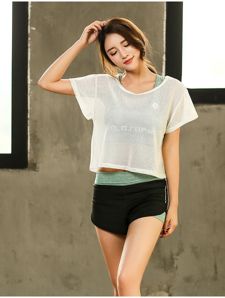 Set Bộ 3 đồ quần áo thun thể thao nữ áo ngoài zen năng động ( Đồ Tập Gym, Yoga, Aerobic ) mã 8808 15