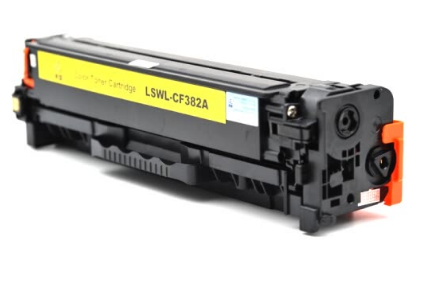 Lai Sheng LSWL-CF382A toner cartridge yellow toner cartridge for HP CP-M476nw/M476dw MFP