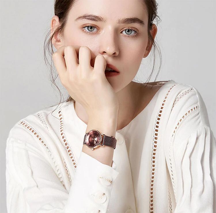Đồng hồ nữ Julius JA-1129D (Tím)