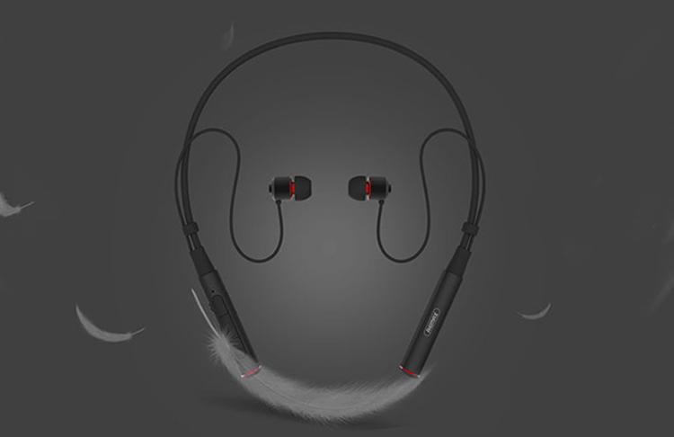 Tai Nghe Bluetooth Nhét Tai Thể Thao Đeo Cổ Remax RB - S6