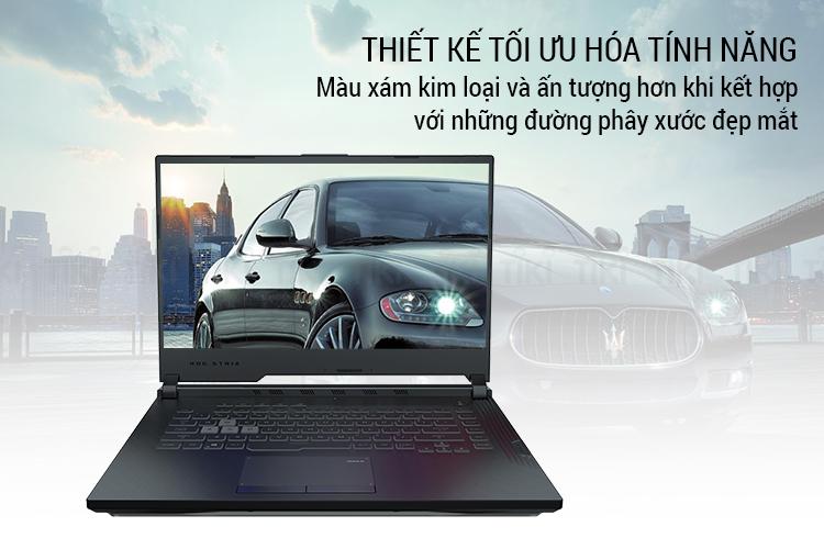 Laptop Asus ROG Strix G G531GD-AL025T Core i5-9300H/ GTX 1050 4GB/ Win10 (15.6 FHD IPS 120Hz) - Hàng Chính Hãng