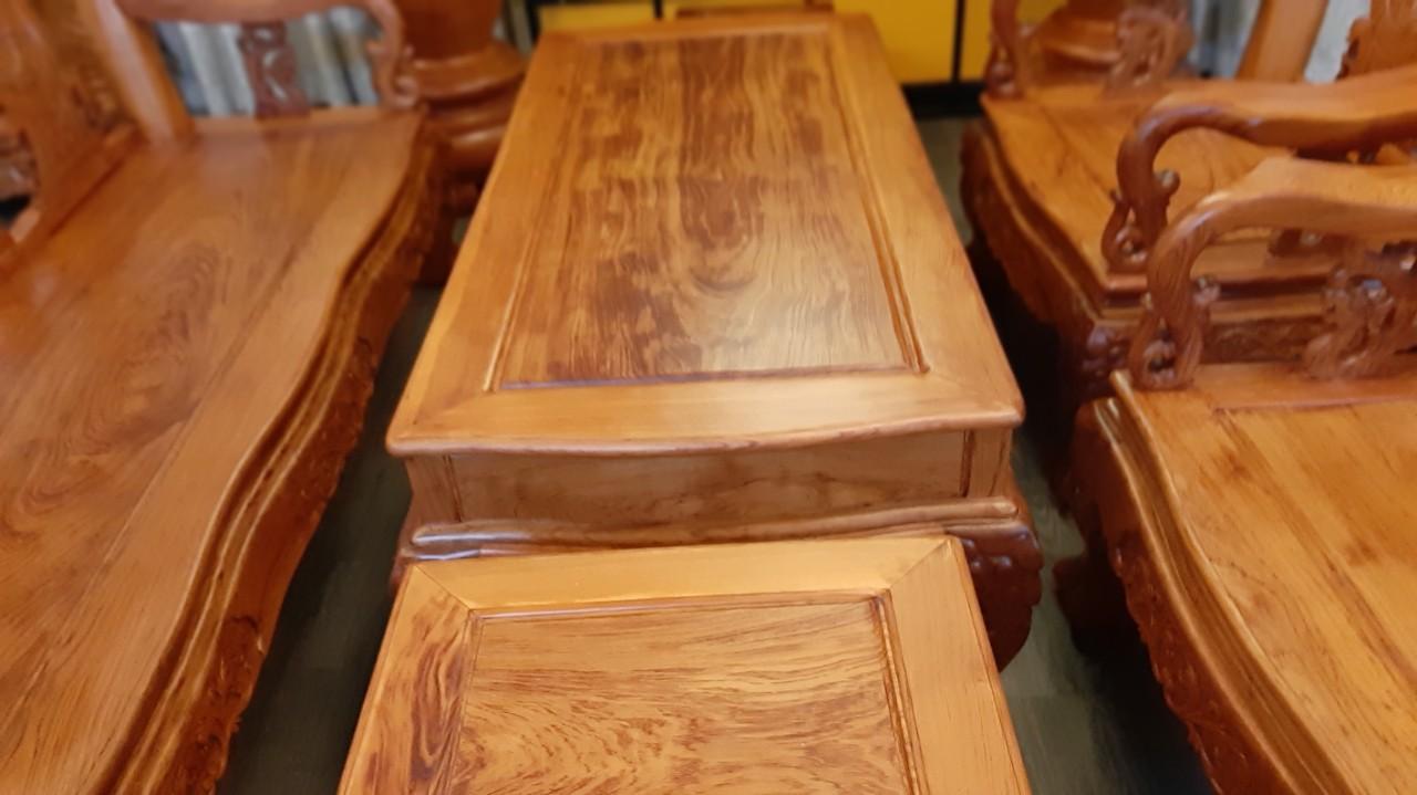 bộ sofa gỗ hương đá