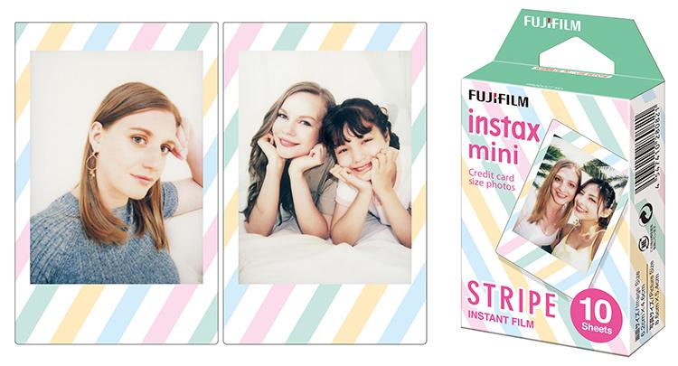 Hộp Film Fujifilm Mini 10 Tấm Stripes
