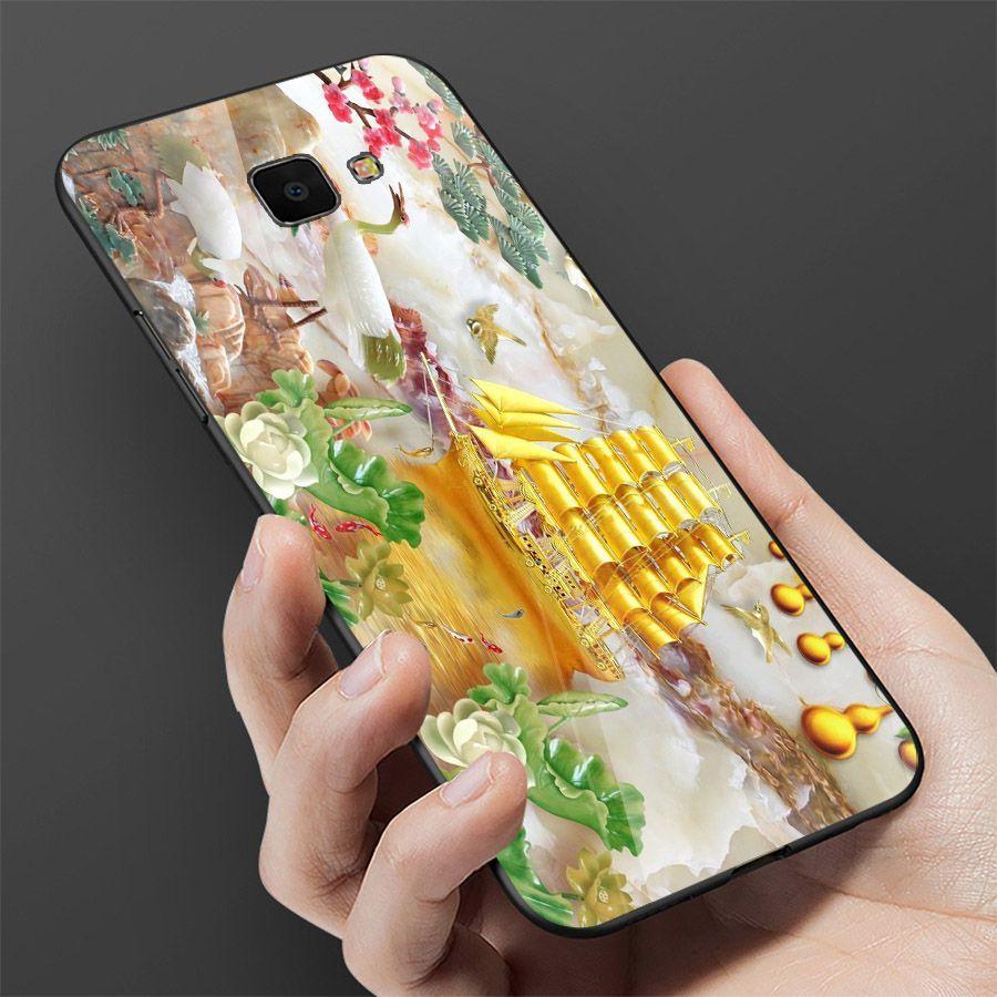 Ốp điện thoại kính cường lực cho máy Samsung Galaxy A70 - thuận buồm xuôi gió MS 2TBXG012