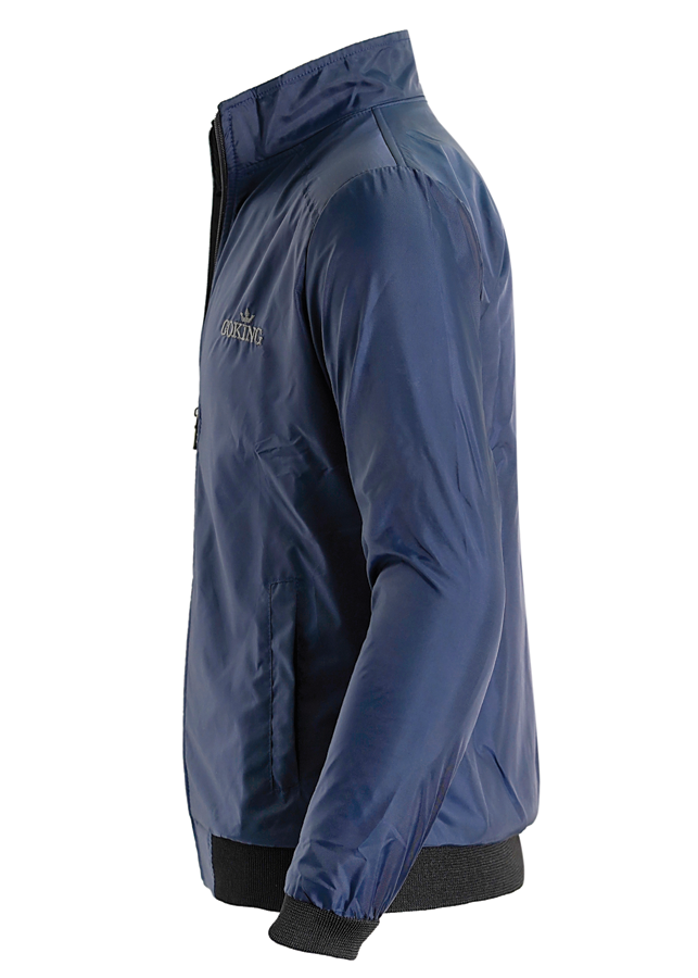 Áo khoác gió nữ cách nhiệt GOKING, ngoài vải dù, trong lót vải cào chống nóng và giữ ấm cơ thể 4