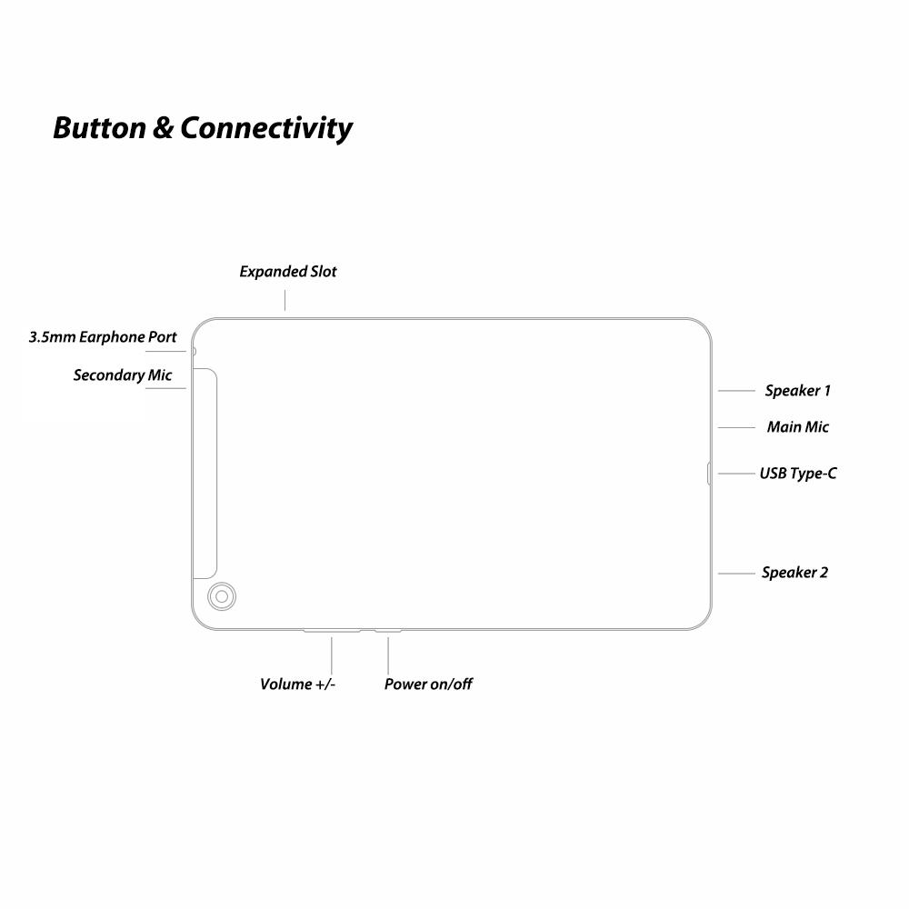 Máy Tính Bảng Nhận Dạng Khuôn Mặt Xiaomi Mi Pad 4 (8inch) (5MP+13MP) (6000mAh)