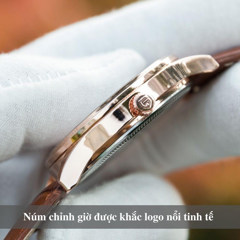 Đồng hồ nam PAGINI cao cấp chống nước - Mặt kính tráng sapphire chống xước - Phong cách sang trọng - Lịch lãm 6