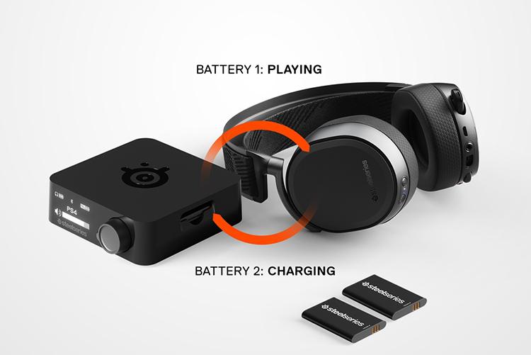 Tai Nghe Chơi Game Steelseries Arctis Pro Wireless - Hàng Chính Hãng