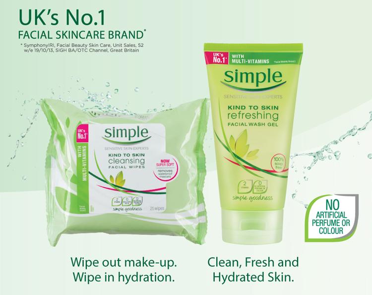 Sữa Rửa Mặt Dạng Gel Simple Kind To Skin Refreshing Facial Wash Gel Dành Cho Da Nhạy Cảm (150ml)