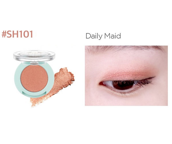 Phấn Mắt Nhũ Lime Color & Eyes Single Shadow 1.4g 5