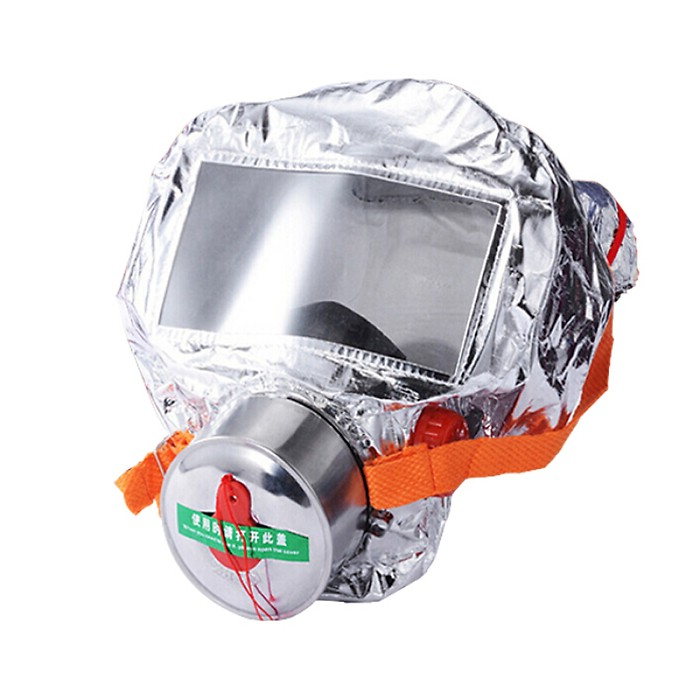 Gangqi Gangqi gas mask filter self-rescue breathing apparatus consumer and commercial fire escape self-rescue smoke mask car hotel fire emergency first aid mask
