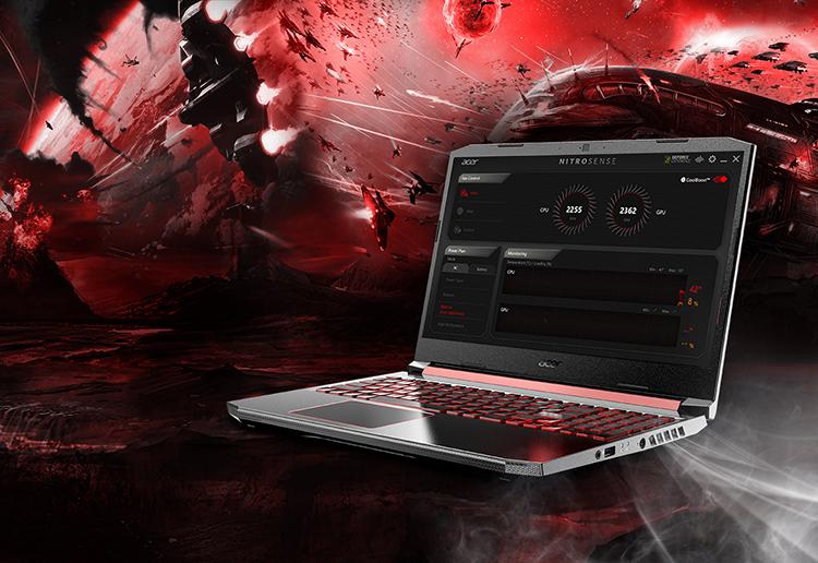 Laptop Acer Nitro AN515-54-76RK NH.Q59SV.023 Core i7-9750H/ GTX 1650 4GB/ Win10 (15.6 FHD IPS) - Hàng Chính Hãng