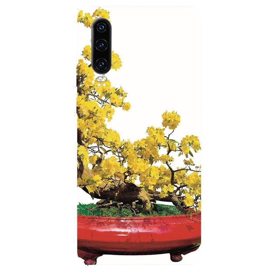 Ốp lưng điện thoại Huawei Y7 Pro 2019 - Tranh Mai Đào MS MDAO023