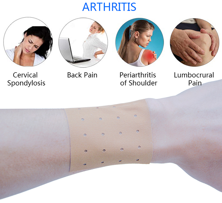 Back Neck Knee Joint Ache Capsicum Plaster-Hot Spa Body Massage Supply - Brown