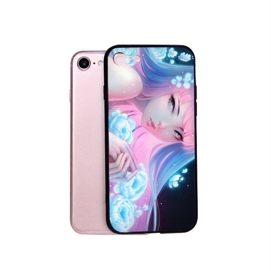 Ốp điện thoại iPhone 5/5s/se - cô gái cá tính MS CGCT002