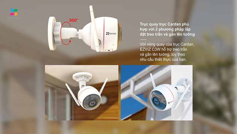 Camera IP Wifi EZVIZ C3W 720P có đèn còi - đàm thoại 2 chiều - hàng nhập khẩu 9
