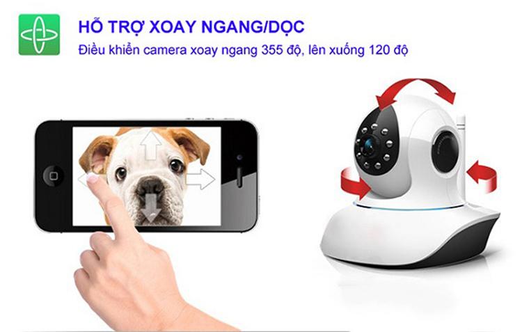 Camera IP Vantech VT-6300B 1.3 Megapixel - Hàng nhập khẩu