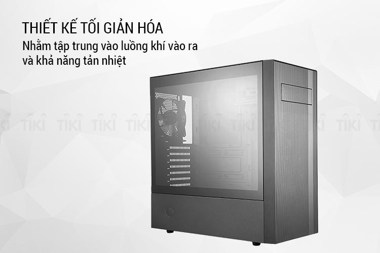 Vỏ case Cooler Master NR600 - Hàng Chính Hãng
