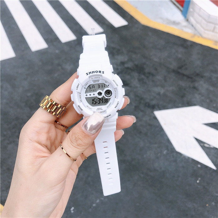 Đồng hồ thể thao nam nữ trẻ trung, năng động phong cách Hàn Quốc 2