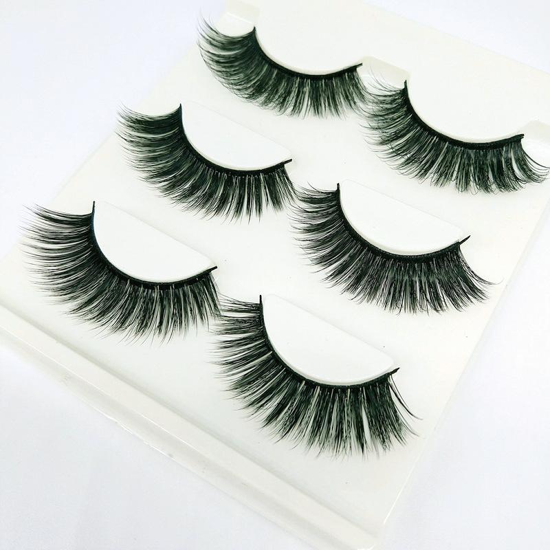 Lông mi giả lông chồn 3 Fashion Eyelashes 3 Faux-Cils 3D 1 bộ 3 cặp 51