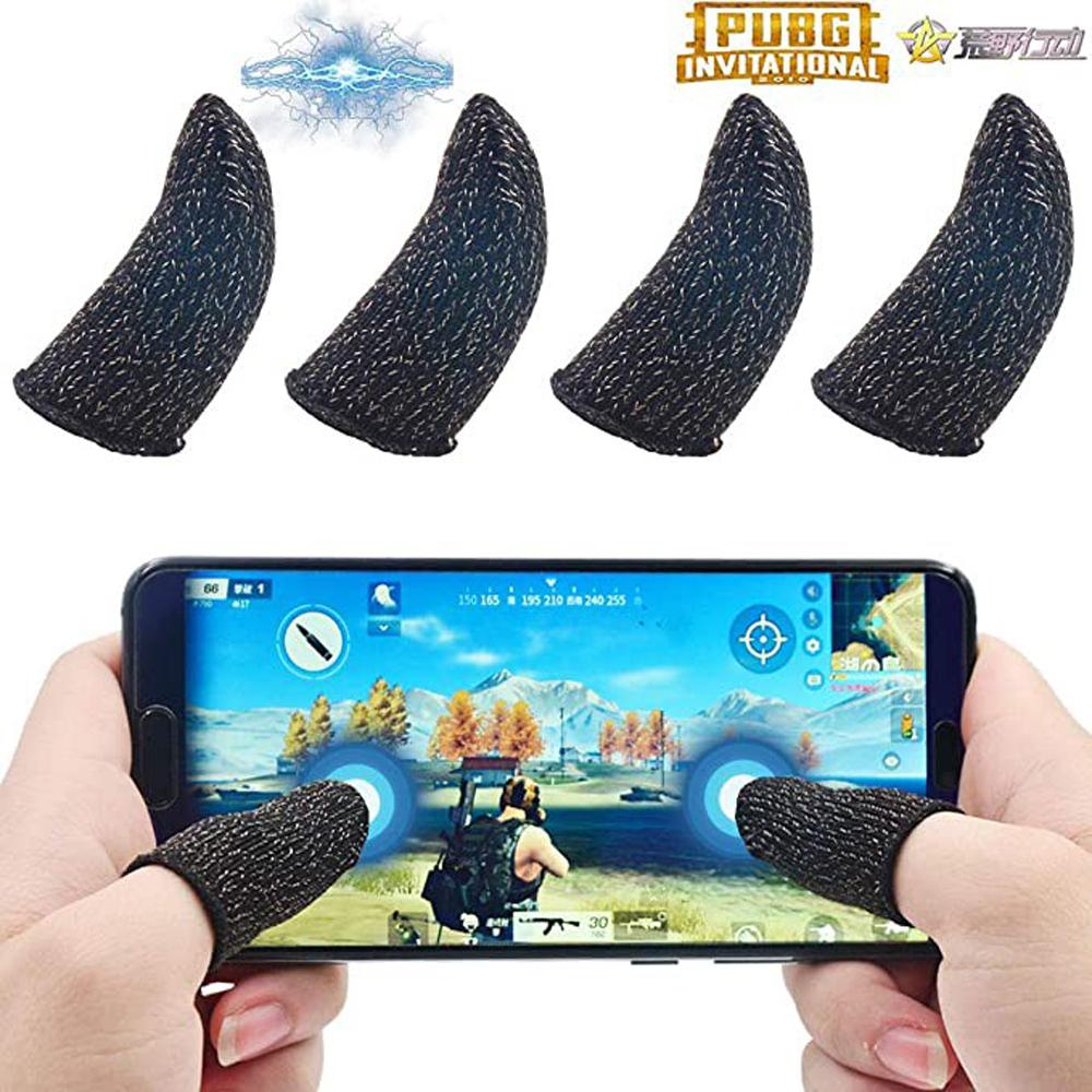 Bộ Găng tay chơi game cảm ứng bao ngón tay chống mồ hôi chống trượt 5