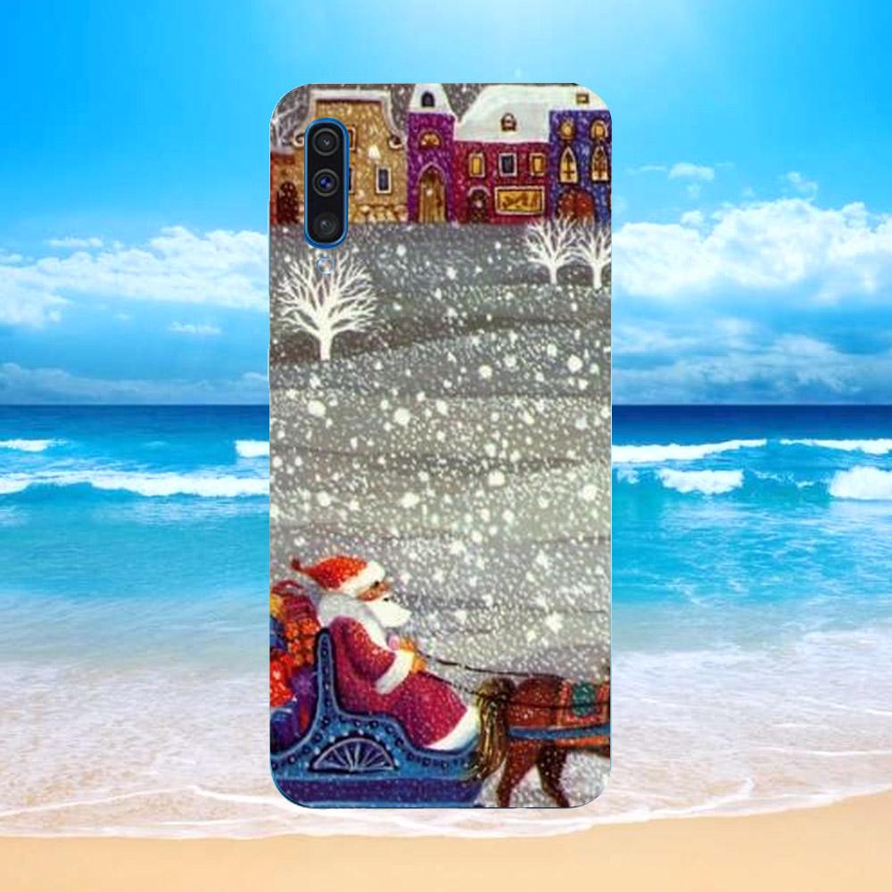 Ốp lưng điện thoại Samsung Galaxy M30 - giáng sinh đầm ấm MS GSDA004