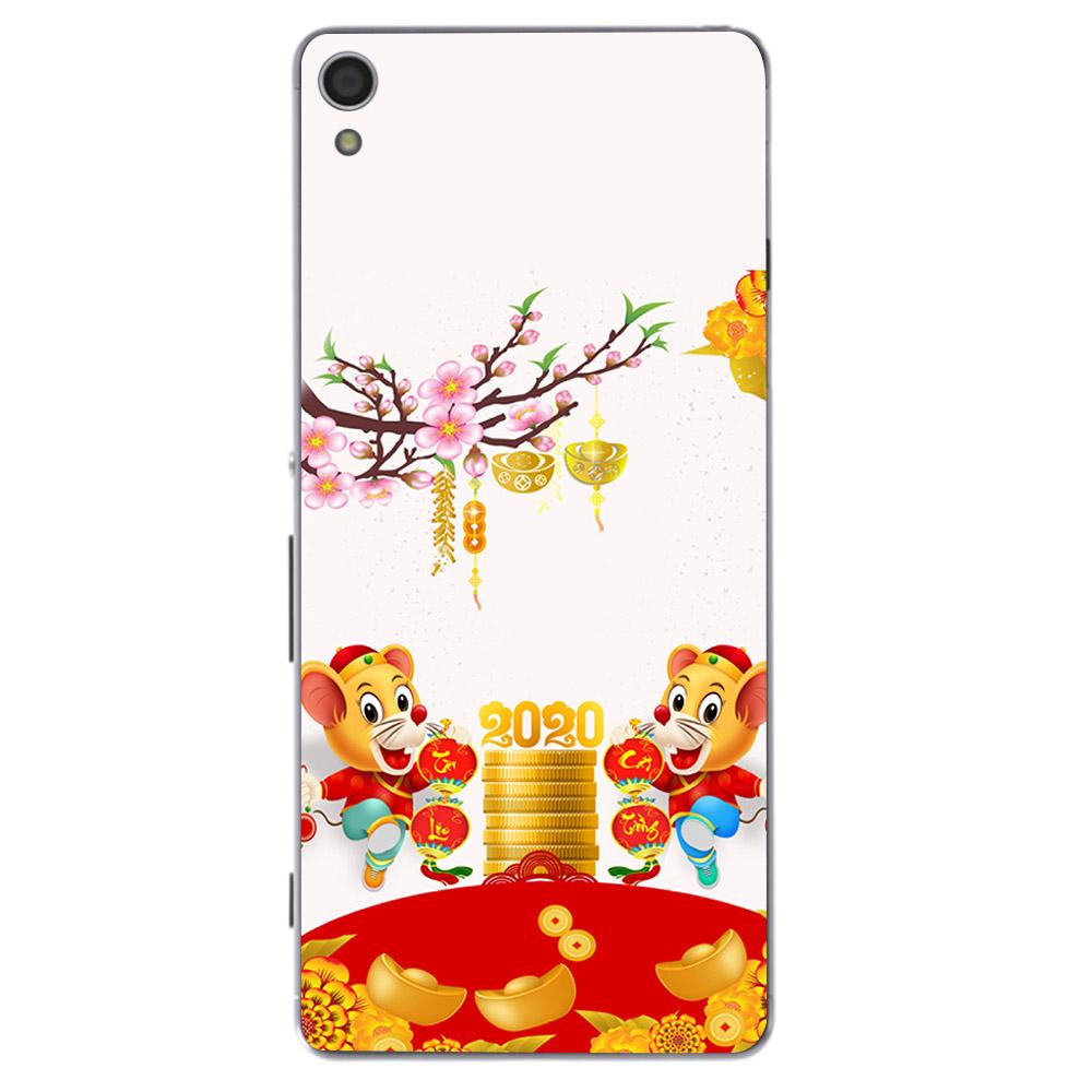 Ốp điện thoại Sony Xperia Z3 - Chuột chúc tết mã 17 MS CCTM17