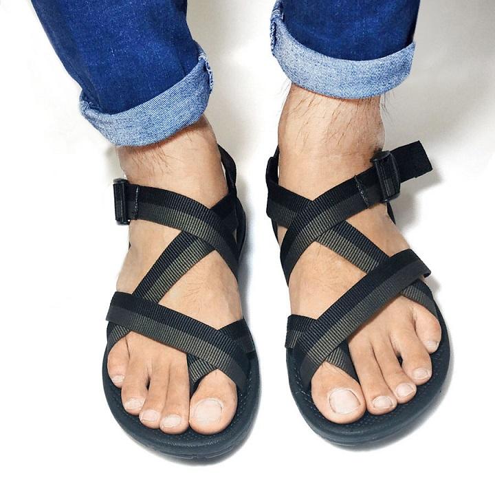 Giày Sandal Nữ Kiểu Xỏ Ngón Đế Cao 1.5cm 4