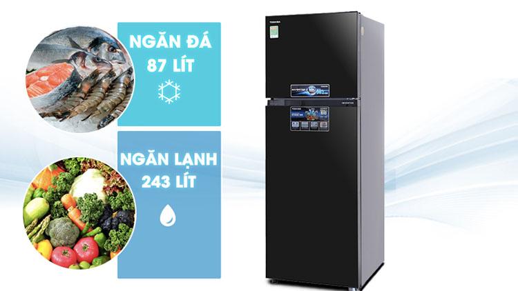 Tủ Lạnh Inverter Toshiba GR-MG39VUBZ-XK (330L)